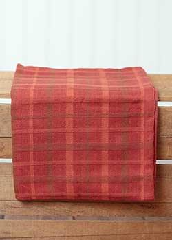 Fall Plaid Kitchen Towel