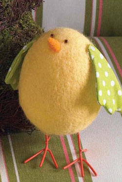 Small Felt Chick