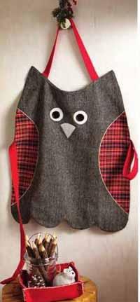 Owl Kid's Apron