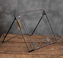 Wrought Iron Cookbook Holder