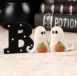 Boo with Ghosts Shelf Sitter
