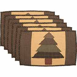 Sequoia Quilted Placemats (Set of 6)