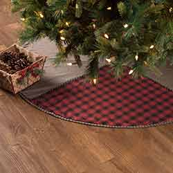 Andes Christmas Tree Skirt - 48 inch