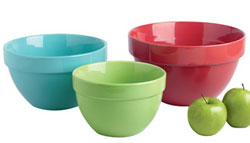 Tropical Brights Mixing Bowls (Set of 3)