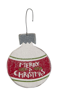 Merry Bulb Ornament