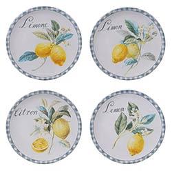 Citron Lemon Salad Plate
