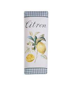 Citron Lemon Slim Rectangular Platter