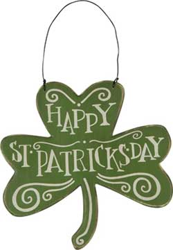 Happy St. Patrick's Day Ornament