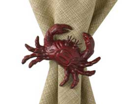 Crab Napkin Ring