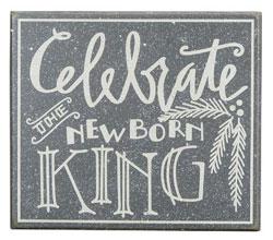Newborn King Box Sign