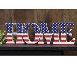 Patriotic Home Shelf Sitter