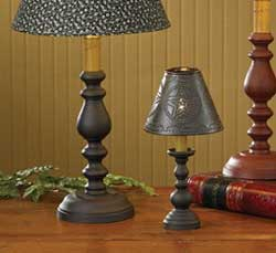 Candlestick Lamp Base - Black (23 inch)