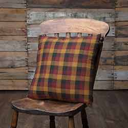Heritage Farms Primitive Check Throw Pillow