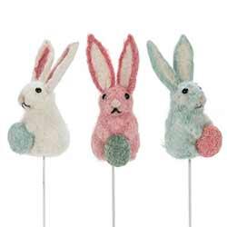 Felt Bunny Picks (Set of 3)