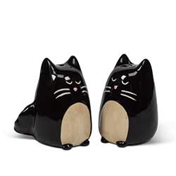 Black Cat Salt & Pepper