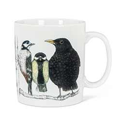 Bird Conversation Jumbo Mug