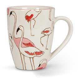Flamingo Mugs (Set of 4)