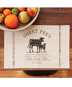 Sweet Feed Cow Placemat