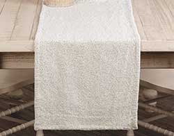 Nowell Creme 90 inch Table Runner