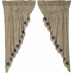 Vincent 63 inch Prairie Curtain