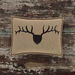 Trophy Head Decorative Pillow