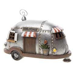 Fairy Garden Camper House Figurine