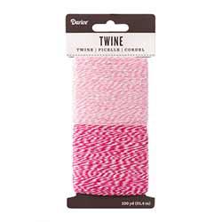 Baking Twine, 100 yards - Pinks
