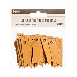 Eyelet Tags in Kraft (50 pack)