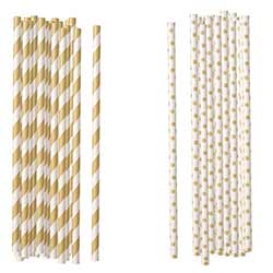 Kraft Paper Straws (Set of 100)