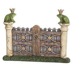 Frog Prince Fairy Door Figurine