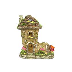 Shoe Fairy Garden House