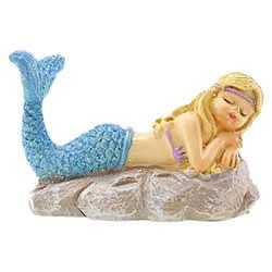Sleeping Mermaid Miniature Figurine