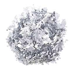 Chunky Glitter - Silver (0.75 ounces)