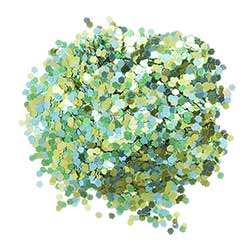 Chunky Glitter - Green (0.75 ounces)
