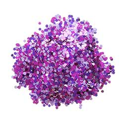 Chunky Glitter - Purple (0.75 ounces)