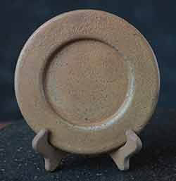 Plain Primitive Plate - Mustard (6 inch)