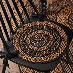 Farmhouse Braided Chair Pads (Set of 6)