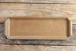Rectangle Dish with Handles - Mustard