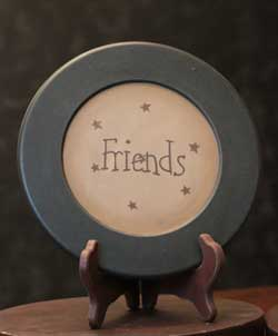 Friends Plate with Stars