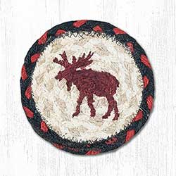 Moose Braided Coaster