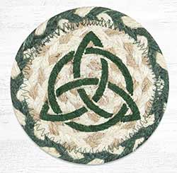 Irish Knot 1 Braided Coaster