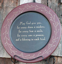 May God Give You Plate