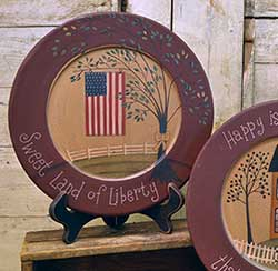 Sweet Land of Liberty Plate