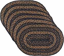 Patriot Navy Braided Placemats (Set of 6)