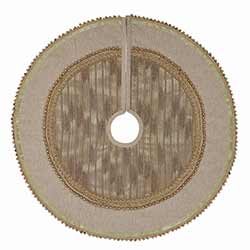 Celebrate Gold Christmas Tree Skirt - Mini