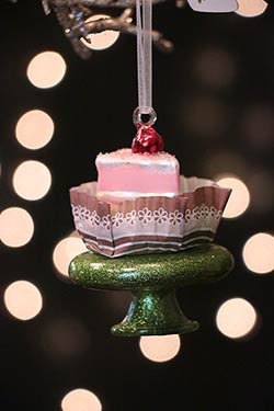 Cake Slice Ornament