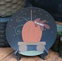 Lil Pumpkin Plate