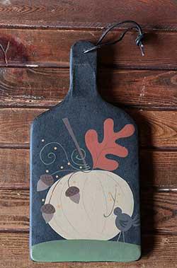 Pumpkin & Acorn Paddle