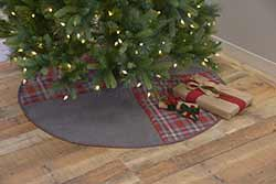 Anderson Patchwork Christmas Tree Skirt - 55 inch
