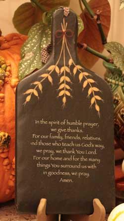 Humble Prayer Hanging Paddle